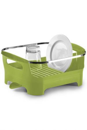 Сушилка для посуды Basin UMBRA. Цвет: зеленый