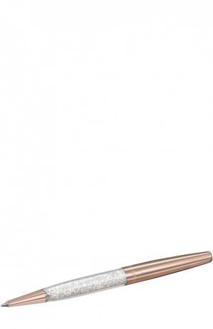 Шариковая ручка Crystalline Stardust Swarovski. Цвет: золотой
