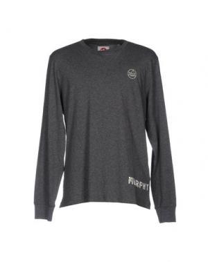 Футболка MURPHY & NYE. Цвет: серый
