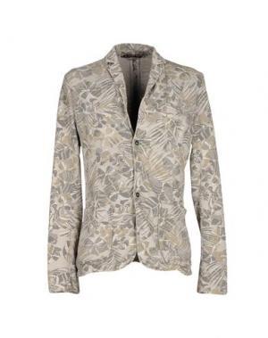 Пиджак TAKE-TWO. Цвет: светло-серый