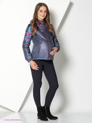 Куртка I love mum. Цвет: синий, серый