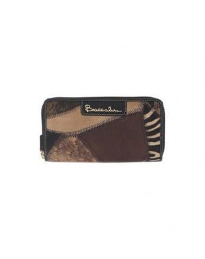 Бумажник BRACCIALINI. Цвет: коричневый