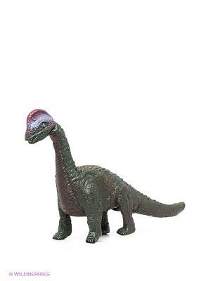 Динозавр Брахиозавр Amico. Цвет: хаки