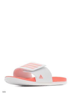 Шлепанцы adilette CLF+ Adj K FTWWHT/EASCOR/FTWWHT Adidas. Цвет: белый