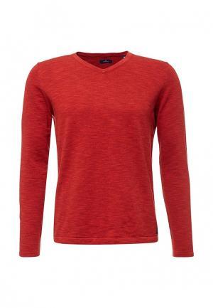 Пуловер Tom Tailor. Цвет: красный