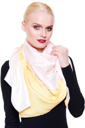 Большой платок Giglio. Цвет: желтый