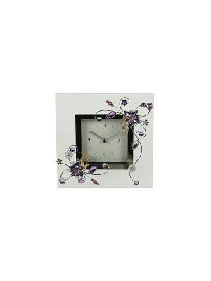 Часы Фиалка Русские подарки. Цвет: серебристый