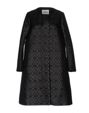 Пальто ISSA. Цвет: черный