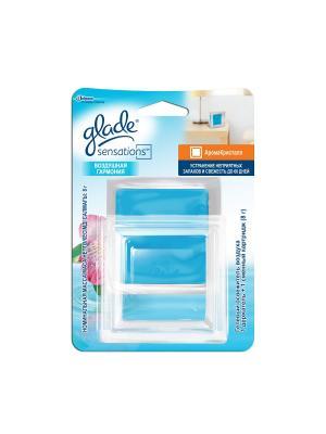 Glade Освежитель воздуха Арома Кристалл основной комплект Воздушная Гармония 8г. Цвет: голубой