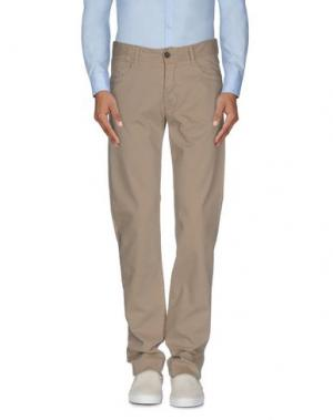 Повседневные брюки NICHOL JUDD. Цвет: бежевый