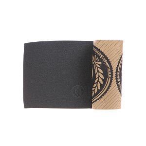 Шкурка для скейтборда  Logo Grip Black Юнион. Цвет: черный