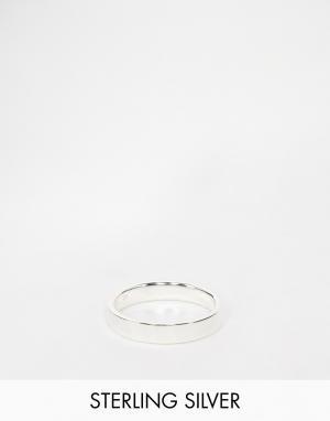 ASOS Серебряное кольцо. Цвет: серебряный