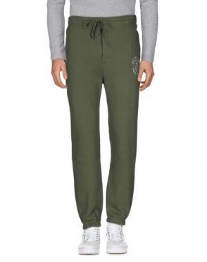 Повседневные брюки UNDEFEATED. Цвет: зеленый-милитари