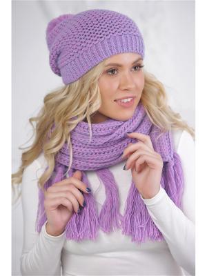 Шапка Айрин Siberika. Цвет: фиолетовый, розовый