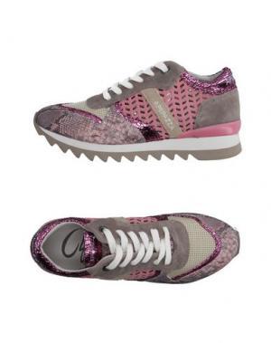 Низкие кеды и кроссовки APEPAZZA. Цвет: розовый