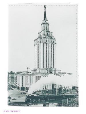 Обложка для паспорта Mitya Veselkov. Цвет: белый