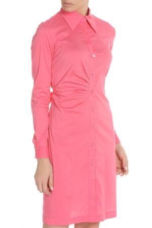 Платье NATALIA PICARIELLO. Цвет: розовый