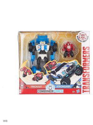 Робот Transformers. Цвет: черный, синий