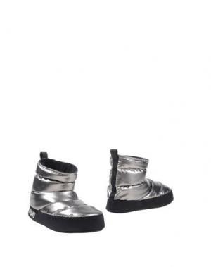 Полусапоги и высокие ботинки MARC BY JACOBS. Цвет: серебристый