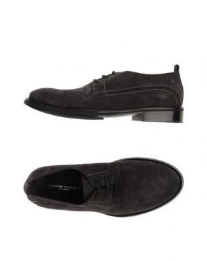 Обувь на шнурках COSTUME NATIONAL HOMME. Цвет: свинцово-серый