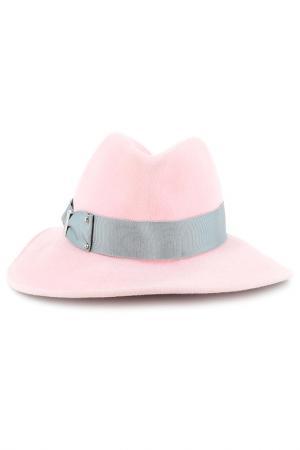 Шляпа Eugenia Kim. Цвет: розовый
