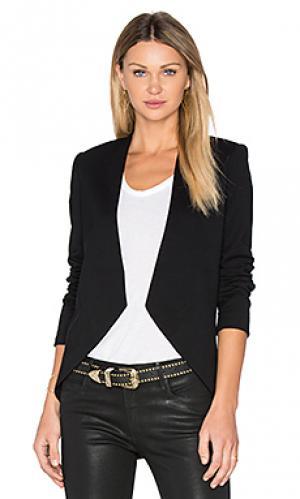 Пиджак без застёжки BLAQUE LABEL. Цвет: черный