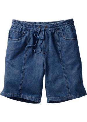 Бермуды Classic Fit (синий) bonprix. Цвет: синий