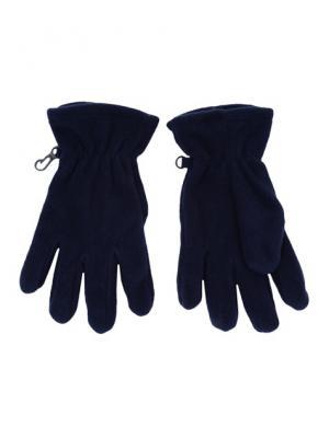 Перчатки трикотажные для мальчиков PlayToday. Цвет: синий
