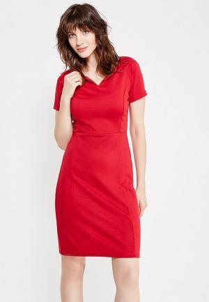 Платье Modis. Цвет: бордовый