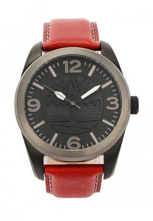 Часы Timberland. Цвет: красный
