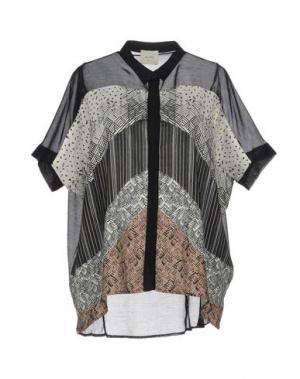 Pубашка ALYSI. Цвет: черный