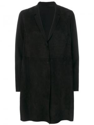 Объемная куртка Salvatore Santoro. Цвет: чёрный