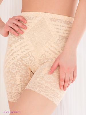 Панталоны Rago. Цвет: бежевый