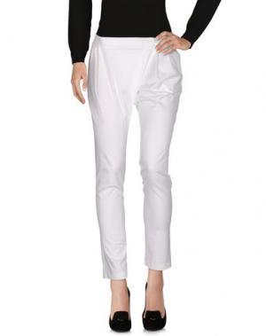 Повседневные брюки OLYMPUS. Цвет: белый