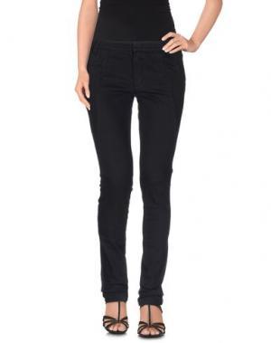 Джинсовые брюки EDUN. Цвет: черный