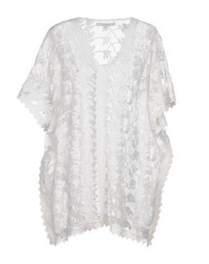 Блузка ONDADEMAR. Цвет: белый