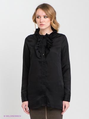 Блузка RARE. Цвет: черный