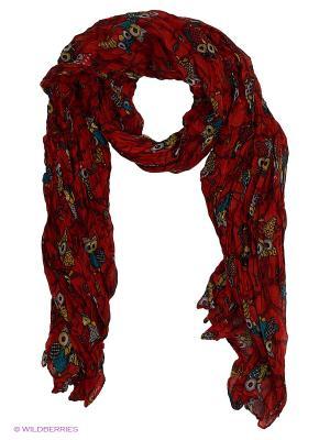 Платок Pur. Цвет: красный