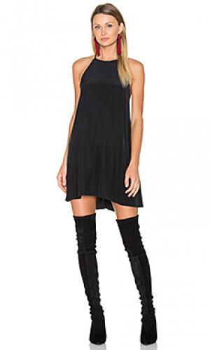 Платье trace Amanda Uprichard. Цвет: черный