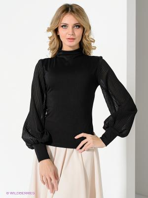 Блузка Lussotico. Цвет: черный
