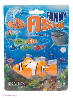 Рыбка-робот FUNNY FISH BRADEX. Цвет: оранжевый