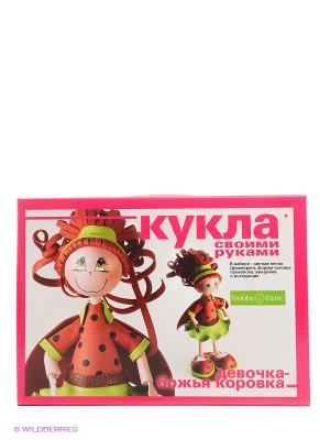Набор Кукла своими руками. Девочка-божья коровка Альт. Цвет: оранжевый