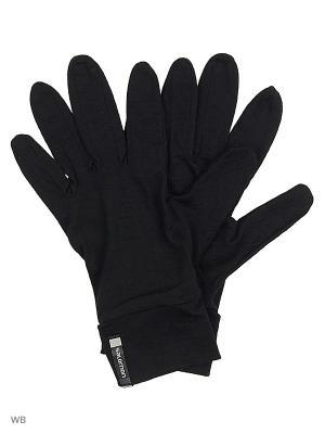 Перчатки GLOVES GLOVE LINERS U SALOMON. Цвет: черный
