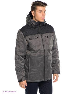 Куртка RED-N-ROCK'S. Цвет: серый, черный