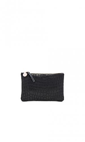 Клатч wallet supreme Clare V.. Цвет: черный
