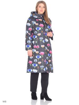 Пальто Chic de Femme. Цвет: черный, розовый, синий