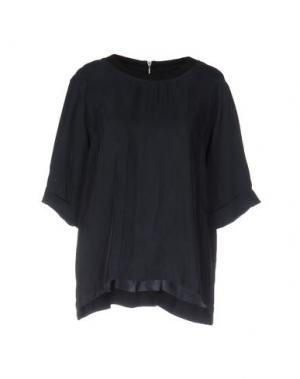Блузка LIBERTINE-LIBERTINE. Цвет: темно-синий
