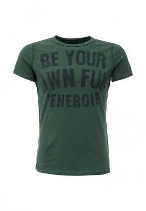 Футболка Energie. Цвет: зеленый