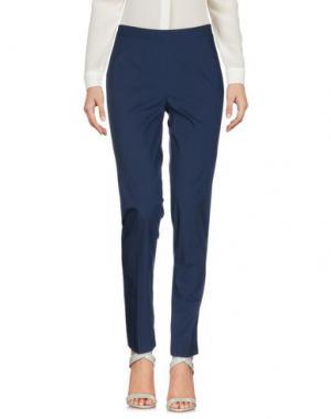 Повседневные брюки ROSSO35. Цвет: темно-синий