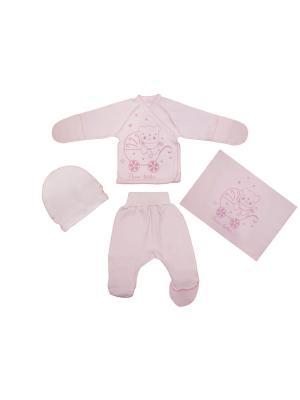 Комплект Жанэт. Цвет: розовый